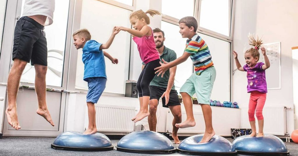 Advantages of physical activity for children